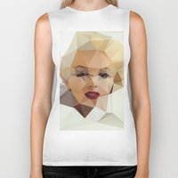 crazy Biker Tanks featuring Monroe. by David