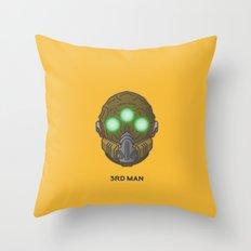 Loot#2 - Mask of the Third Man Throw Pillow