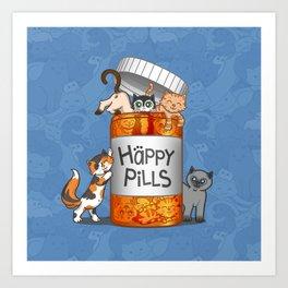 Happy Pills Art Print