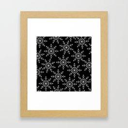 Give Me a Black & White Christmas - 3 Framed Art Print