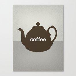 Coffee/Tea Canvas Print