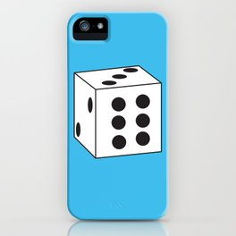 Gaming Dice Lucky Six iPhone Case