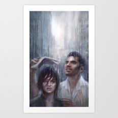 Mass Effect - Vancouver Art Print