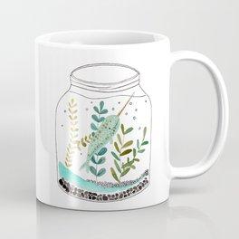 Narwhal in a jar Coffee Mug