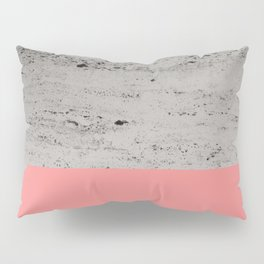 Light Coral on Concrete #2 #decor #art #society6 Pillow Sham