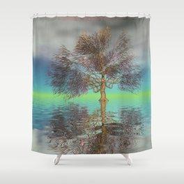 strange light somewhere -20- Shower Curtain