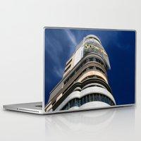 madrid Laptop & iPad Skins featuring Madrid, Spain by OSCAR GBP