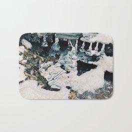 Melting Ice Sculpture Bath Mat