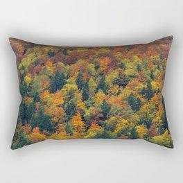 Stunning autumn forest Rectangular Pillow