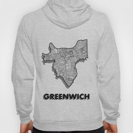 Greenwich - London Borough - Detailed Hoody