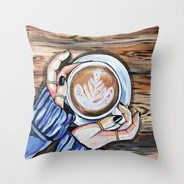 Disfrute Throw Pillow