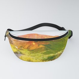 Forest Mountain Fanny Pack