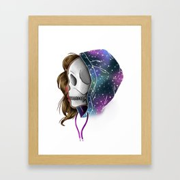 Chilled to the Bone Framed Art Print