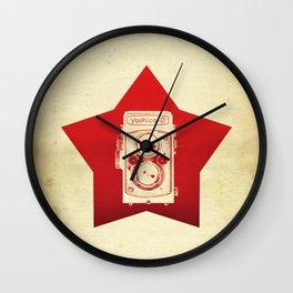 Yashica Camera Wall Clock