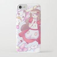 puppycat iPhone & iPod Cases featuring Bee & puppycat ver 2 by Kurodoj