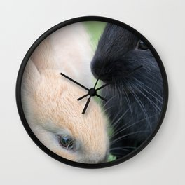 Finish Your Vegetables Wall Clock