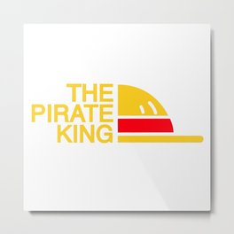 The Pirate King Metal Print