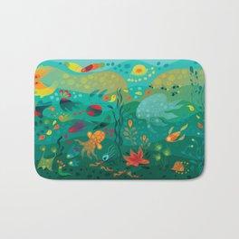 Wobbly Sea Bath Mat