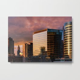 South Boston sky Metal Print