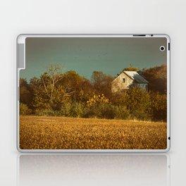 Abandoned Barn Colorized Landscape Photo Laptop & iPad Skin
