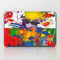 miley iPad Cases featuring Miley Montana by adorabriah