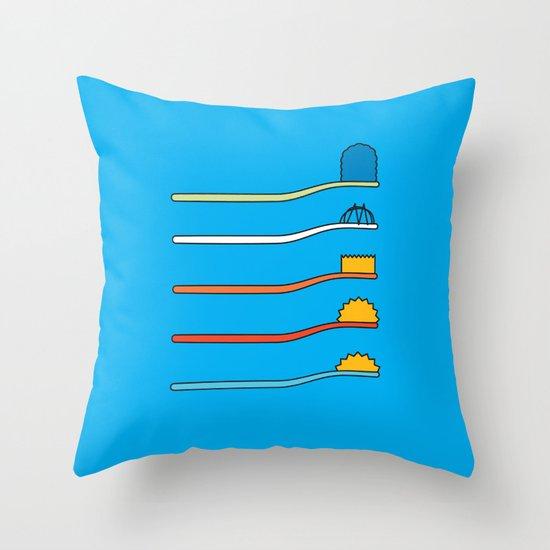 Simpsodyne Throw Pillow