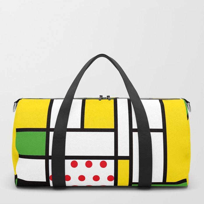 Mondrian – Bycicle Duffle Bag