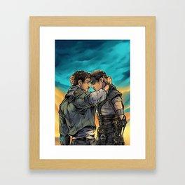 Say Goodbye Framed Art Print