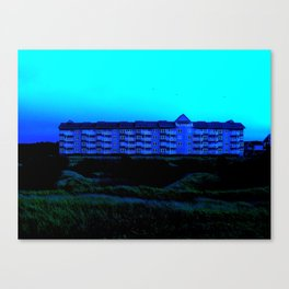 House of Blue Canvas Print