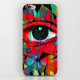 Useless Eyes iPhone Skin