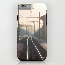 The Blurry Memory Of Leaving Home iPhone Case