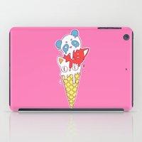 ice cream iPad Cases featuring Ice Cream by Freeminds