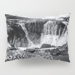 Thor's Well, No. 3 bw Pillow Sham