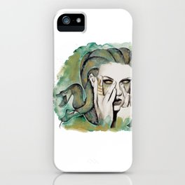 medusa's got a spell on taylor iPhone Case