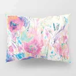 Meadow 4, colorfull design Pillow Sham