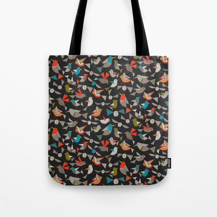 just birds dark Tote Bag