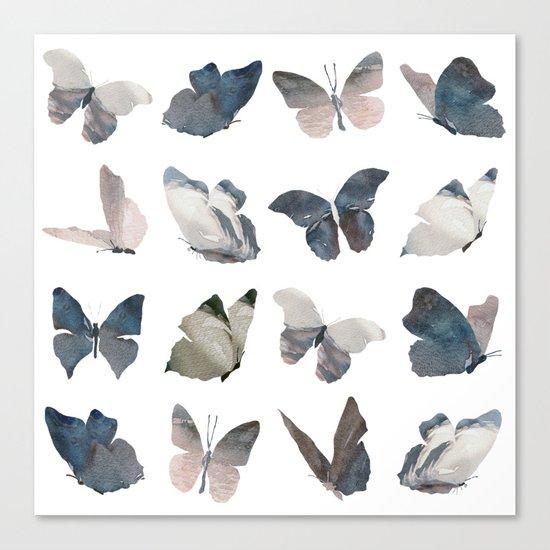 Butterfly Pattern Canvas Print