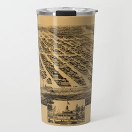 Map Of Asbury Park 1881 Travel Mug
