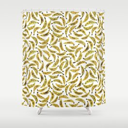 Ripe Bananas by Rachel Whitehurst Shower Curtain