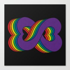Infinite Love Canvas Print