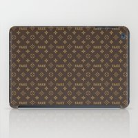 lv iPad Cases featuring Fake LV by Rui Faria