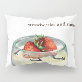 La Cuisine Fusion - Strawberries with Mayo Pillow Sham
