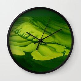 Green, Green ... Wall Clock