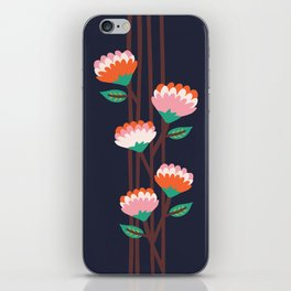 Benoít Flowers iPhone Skin