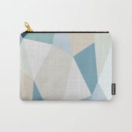SPRING LOVE { BLUE } Carry-All Pouch