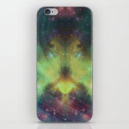 cosmic meditation  iPhone Skin
