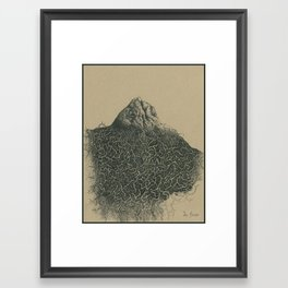 The Burden Framed Art Print