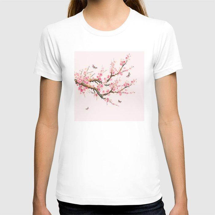 Pink Cherry Blossom Dream T-shirt