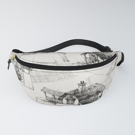 Concept watermill Fanny Pack