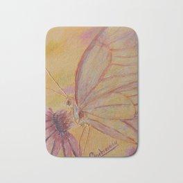 Little mirror butterfly | Petit Miroir papillon Bath Mat